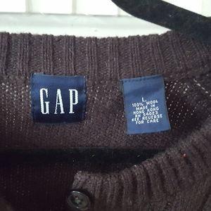 GAP brown sweater